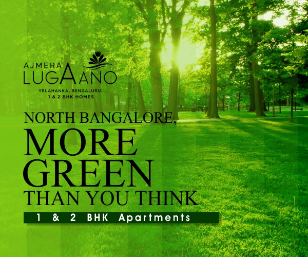 Ajmera Lugaano - Yelahanka New Town at Rs 3870 per sq.ft - 2